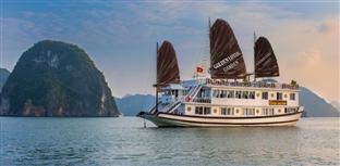 Du lịch Hạ Long Cát Bà 3 ngày 2 đêm ( 1 đêm tàu Golden Lotus Garden Cruise+ 1 đêm Khách sạn )
