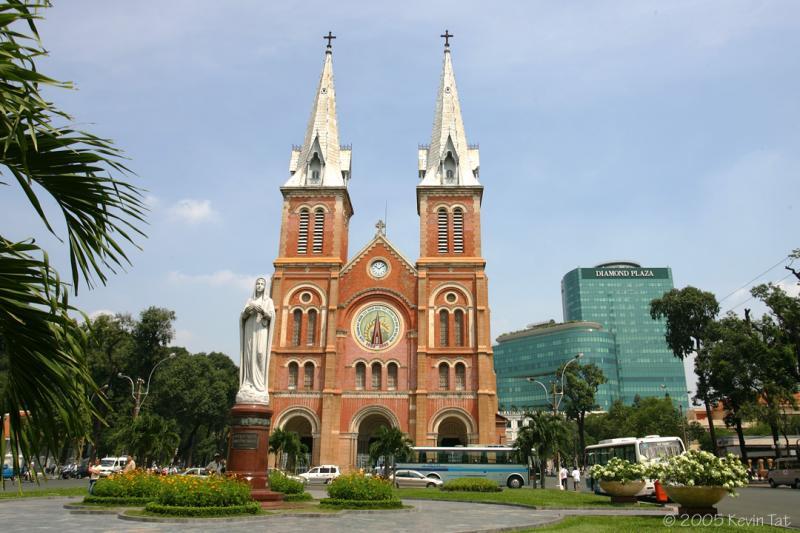 Tour Tham Quan Sài Gòn - TP. HCM Nửa Ngày (Buổi Chiều)